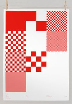 PIXEL by Greig Anderson  #screenPrint £35.00 #graphicDesign