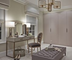 Dressing Room Essentials: 5 Interior Design Ideas - The Style Guide From LuxDeco Bedroom Design, House, Home Decor, House Interior, Sophie Paterson Interiors, Room, Room Design, Room Decor, Dressing Room