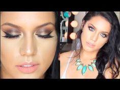 Bronzed summer grunge makeup - #bronzed #summer #grunge #makeup #makeuptutorial