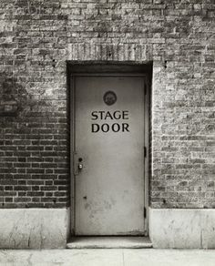 backstage entrance sign - Google Search