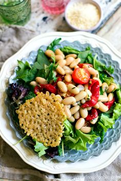 Monna Ginevra: Tuscan Salad Pinned Via: Carolina Girl Cooks http://www.carolinagirlcooks.com/monna-ginevra-tuscan-salad/