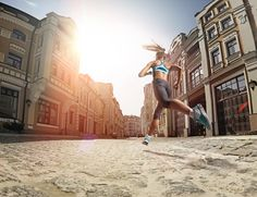 Street Running for life by uDAV Dmitriy_Aksonov, via Behance