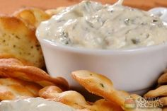 Creamy Spinach Artichoke Dip (made this. Game Day Appetizers, Appetizer Dips, Appetizer Recipes, Spinach Artichoke Dip, Creamy Spinach, Spinach Dip, Romantic Picnic Food, Easy Cooking, Cooking Recipes