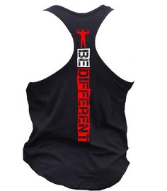 Be Different Shirt. Mens Workout Tank Top. Fitness Tank. Racerback Tank. Muscle Tank. Mens Fitness. Gym Tank. Workout Shirt. Fitness Apparel by MyFitnessApparel on Etsy