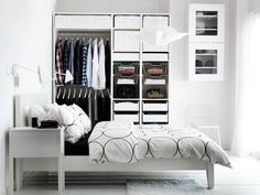 Storage for the bedroom