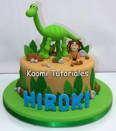 Kaomi Tutoriales: Un Gran Dinosaurio, figuras para torta / The Good ...