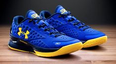 430653a01e7 Under Armour Stephen Curry One 1 Low Warriors Size 9.5. dub nation steph mvp
