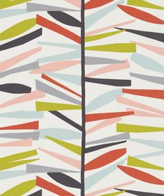 print & pattern blog features the new SS16 Scion 'Lohko' collection of fabrics and wallpapers