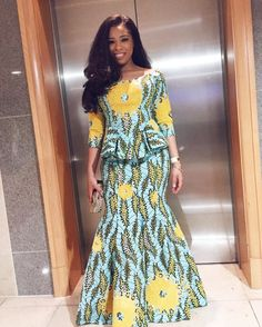 Look 5: Shirley B Eniang