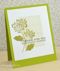 Praying For You Card by Nichole Heady for Papertrey Ink (August 2013)