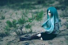 BJD - pretty..love the hair! :)
