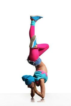 Hip Hop Dance inspired #yoga pose.. SO SICK!