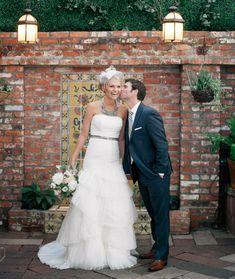 DIY Library Love Wedding: Ashley + Nick // Green Wedding Shoes // Carondelet House // J Wiley Photography