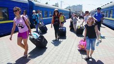 Routes of four trains in Ukraine have prolonged up to coastal resorts