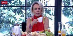 """Apresentadora desabafou sobre o vício durante o""""Mais Você"""" (Reprodução/TV Globo)"""