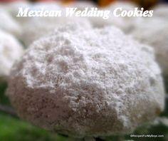 Cookie recipe:  Mexican wedding cookies