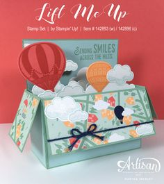 Inch of Creativity: Stamp Review Crew: Lift Me Up