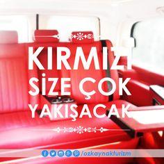 Kırmızı size çok yakışacak.... #vipminibuskiralama #vipcar #ozkaynakturizm http://www.ozkaynakturizm.com