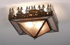 View the Meyda Tiffany 82111 Two Light Flush Mount Ceiling Fixture at LightingDirect.com.