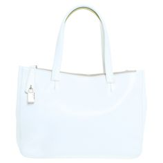 Furla - Leder Handtasche in Weiß #secondhandmode