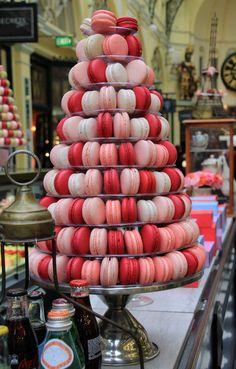 Macarons (my photo - Royal Arcade, Melbourne)