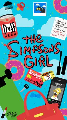 the simpsons girl.