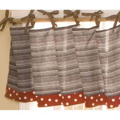 @Overstock.com - Pirate Cove valance is uniquely designed to create your perfect nursery Spruce up any childs window with this simple addition Adding a decorative touch to the top of the roomhttp://www.overstock.com/Baby/Cotton-Tale-Pirates-Cove-Valance/3293757/product.html?CID=214117 $29.99