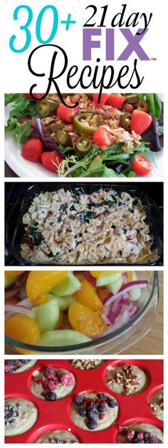 LOTS of tried and true 21 Day Fix recipes with container counts! This list is updated weekly, so PIN IT and check back often. SublimeReflection.com