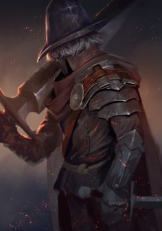 Dark Souls, Josh Corpuz on ArtStation at https://www.artstation.com/artwork/9RyOq