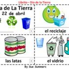 """Earth Day in Spanish 2 Booklets - Dia de la Tierra - great activity for vocabulary pertaining to calendar """"holidays"""""""