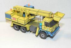 Tatra T815 UDS 214 Free Vehicle Paper Model Download