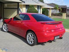 2000 Alfa Romeo GTV V6 quad pipes
