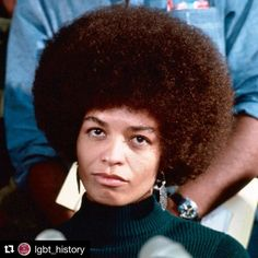 "I love this story about Angela Davis ________________ #Repost @lgbt_history with @repostapp  ""You have to act as if it were possible to radically transform the world. And you have to do it all the time."" - Angela Davis Picture: Angela Davis (b. January 26 1944) press conference 1972. Professor Angela Davis who turns seventy-three today is an American activist scholar and writer best known for her work combating oppression in the United States and abroad. In 1969 Davis came to national…"