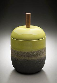 Ettore Sottsass covered jar, ca. 1959