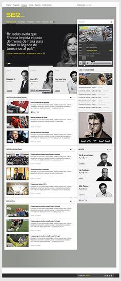 Cadena Ser - News agency and radio portal redesign (pitch) — Fjord 2011