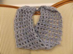 """Sherri's Cowl,"" knit by Sherri herself, using Manos Wool Clasica and Shibui Silk Cloud."