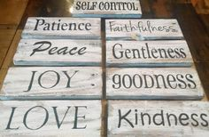 Love these Fruits of the Spirit Signs! GroopDealz | Daily Boutique Deals | Home