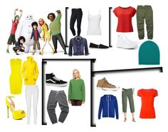 """""""Big hero 6"""" by alien-galaxy ❤ liked on Polyvore featuring NIKE, maurices, TOMS, Splendid, Karen Millen, The North Face, Donna Karan, ALDO, Nili Lotan and Marc Jacobs"""