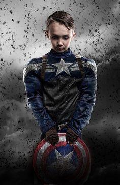Spiderman Kids, Superhero Superman, Marvel Avengers Movies, Marvel Dc, Captain America Poster, Captain Costume, Superhero Pictures, Fairies Photos, Conceptual Photography