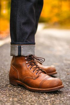 17 Best iron ranger images | Mens fashion:__cat__, Red wing