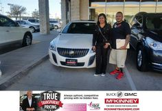 https://flic.kr/p/BDgzv6   Congratulations Rosario & Nicasio on your #Buick #Regal from Kevin St Louis at McKinney Buick GMC!   deliverymaxx.com/DealerReviews.aspx?DealerCode=ZAKC