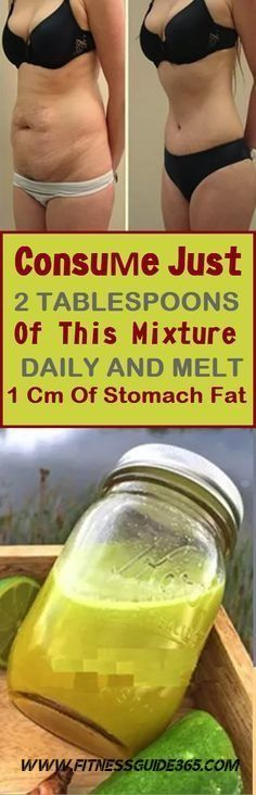 Consume Just 2 Tablespoons of This Mixture Daily and Melt 1 Cm of Stomach Fat! [#RECIPE]