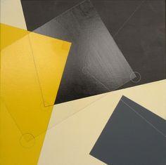 composition 4, acrylic on canvas, 16x16, glovaski 2012