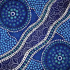 Aboriginal Dot Painting, Dot Art Painting, Mandala Painting, Cultural Patterns, Mandala Art Lesson, Mosaic Artwork, Australian Art, Indigenous Art, Abstract Canvas