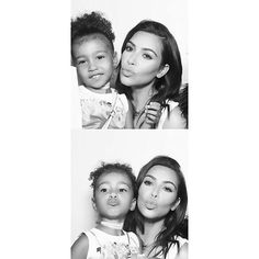 Like mother like daughter  #northwest #kimkardashian
