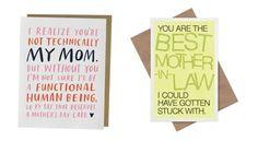 24 hilarische kaarten om op moederdag te geven.  #famme www.famme.nl