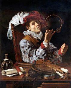 Cecco del Caravaggio - A Conjurer