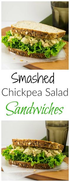 smashed chickpea salad sandwich 9 ingredient smashed chickpea salad ...