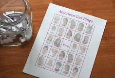 Planted by Streams: The American Girl Party