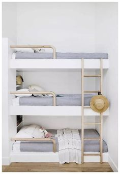 ✔ 33 rustic home decor ideas to present a rural ambience in the city 6 Related Girls Bunk Beds, Adult Bunk Beds, Cool Bunk Beds, Kid Beds, Bed Ideas, Decor Ideas, Brimnes Bed, Bunk Bed With Desk, Triple Bunk